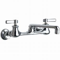 Chicago Faucets 2handle Kitchen Faucet In Chrome With 6
