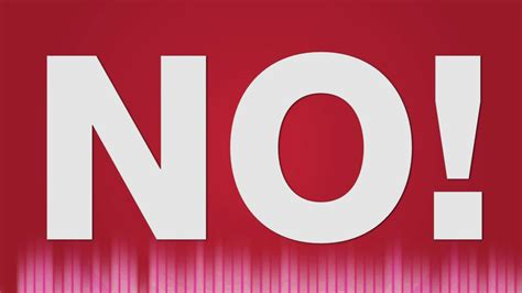 No Sound by No Sound Effect Voice Saying No Sounds