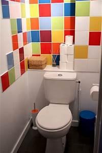 deco wc et idees pour embellir les petits coins With exceptional idee couleur peinture toilette 0 deco toilettes colore