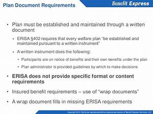 The In's and Out's of ERISA