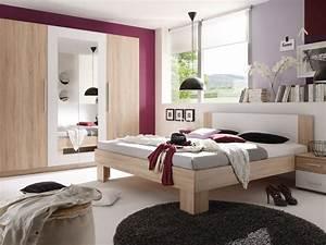 Schlafzimmer Komplett Weiß : martina komplett schlafzimmer eiche sonoma wei ~ Orissabook.com Haus und Dekorationen