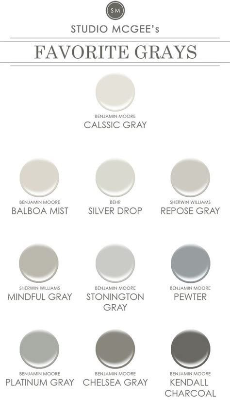 benjamin paint color numbers ask studio mcgee gray paint pewter grey and balboa mist