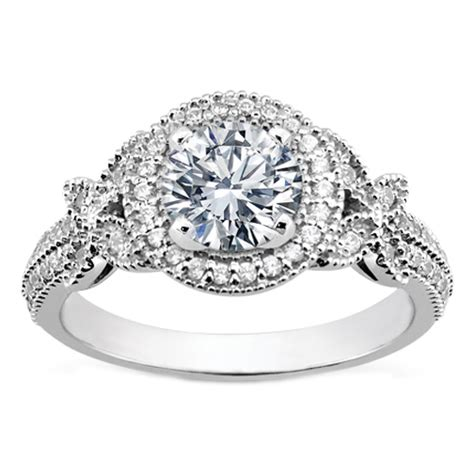 antique style engagement rings vintage engagement rings from mdc diamonds nyc