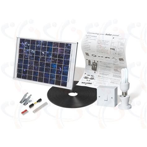 solarmate 1 solar powered indoor lighting kit sm0501