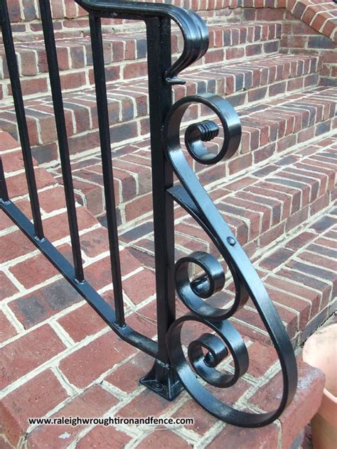 raleigh wrought iron  fence  welding  fabrication