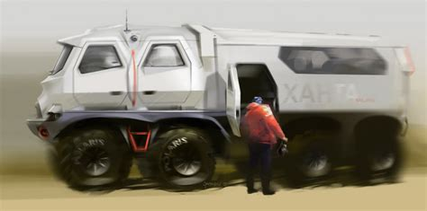 concept cars and trucks concept vehicle illustrations by vadim gousmanov