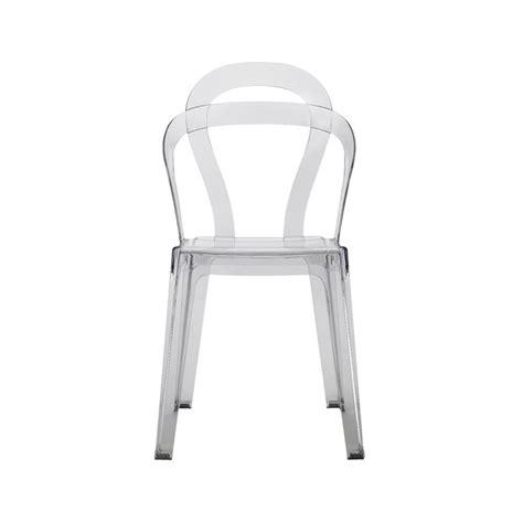 chaise design transparente titi  chaises design scab