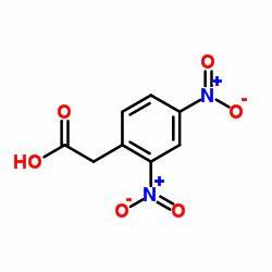 (2,4-Dinitrophenyl)acetic acid | C8H6N2O6 | ChemSpider