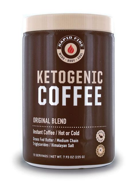 Rapid burn keto pills is an instant diet management source that works to stop fat accumulation inside the body and melt all unwanted calories. Rapid Fire Ketogenic Coffee Instant Coffee Mix, Keto Diet, 7.93 oz., 15 Servings - Walmart.com ...