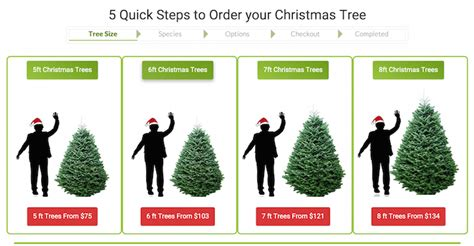 christmas trees and wreaths delivered to your door us