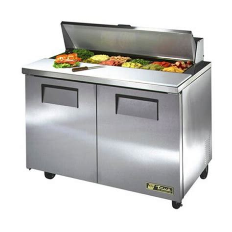 true sandwich prep table true tssu 48 12 sandwich salad prep refrigerator