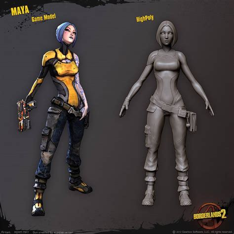 Maya The Siren From The Borderlands Series