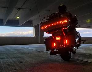 B6 Dual Led Auxiliary Brake Lights For Select Harley