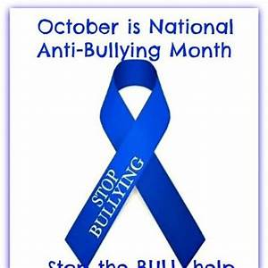 October Is National Anti Bullying Month U00b7 Causes