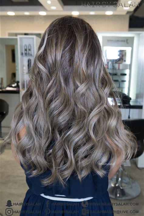 What Is Ash Hair by Silver Ash Hair Balayage Hair By Salah