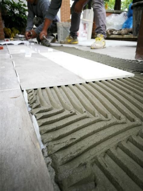 collanti per piastrelle posa a colla o a sabbia e cemento fratelli pellizzari