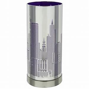 Lampe Variateur De Lumiere : lampe touch new york avec variateur tactile de lumi re ~ Dailycaller-alerts.com Idées de Décoration