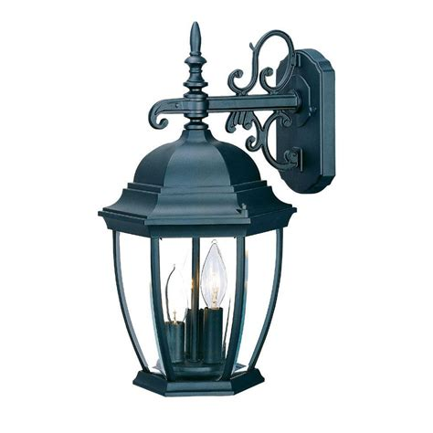 acclaim lighting wexford collection 3 light matte black