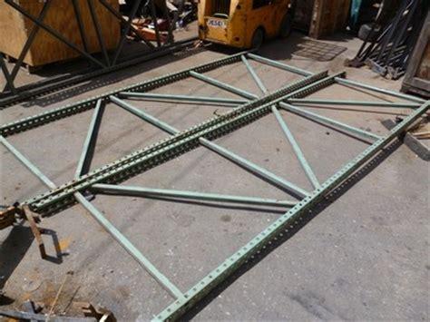 heavy duty upright shelving pallet rack racking  ft shelves     osca lsv carts