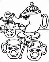 Coloring Tea Party Pages Colouring Sheets Oregon Ducks Printable Quinn Harley Child Popular Coloringhome sketch template