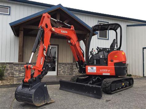 mini excavator kubota   richland rental quality equipment rentals
