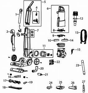 33 Bissell Vacuum Parts Diagram