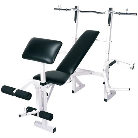 Impex® Competitor Multifunction Weight Bench With Curl