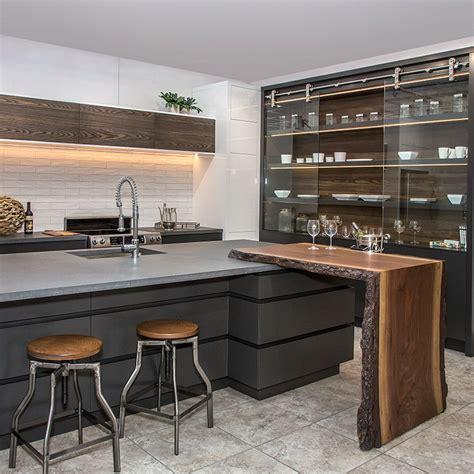cuisine de r黐e cuisines beauregard cuisine réalisation b15 cuisine contemporaine avec armoires