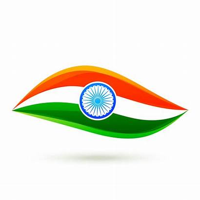 Flag Indian Simple Vector Clipart Graphics