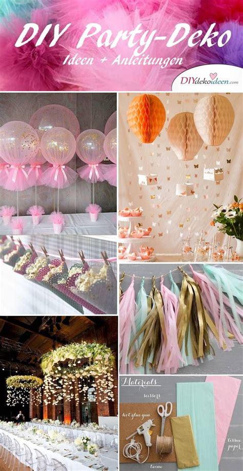 diy ideen deko diy deko ideen zum selbermachen diy deko ideen decoracion de cumplea 241 os fiestas en