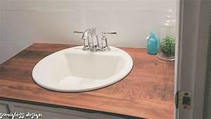 diy wood bathroom countertop - 28 images - diy home sweet