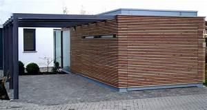 Garage Mit Holz Verkleiden : carport architektenstudio melzer ~ Watch28wear.com Haus und Dekorationen