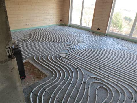 Vera & Christophs Baublog » Es Werde Warm, Teil 1 (fußbodenheizung Und Estrich Im Erdgeschoss