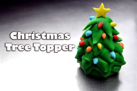 easy classy christmas tree from fondant fondant toppers 3 how to make a fondant tree cakesdecor