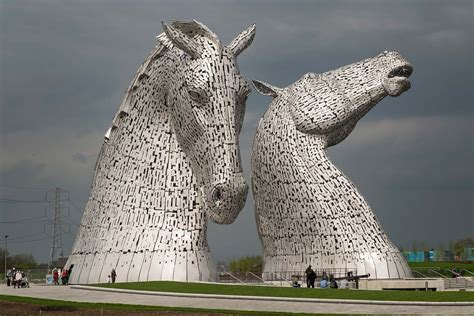 The Kelpies By Sculptor Andy Scott  Bill Ward 360' Panoramas