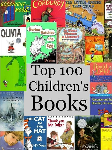 best books for top 100 children s books by sallie 100 | 2940012897831 p0 v1 s1200x630