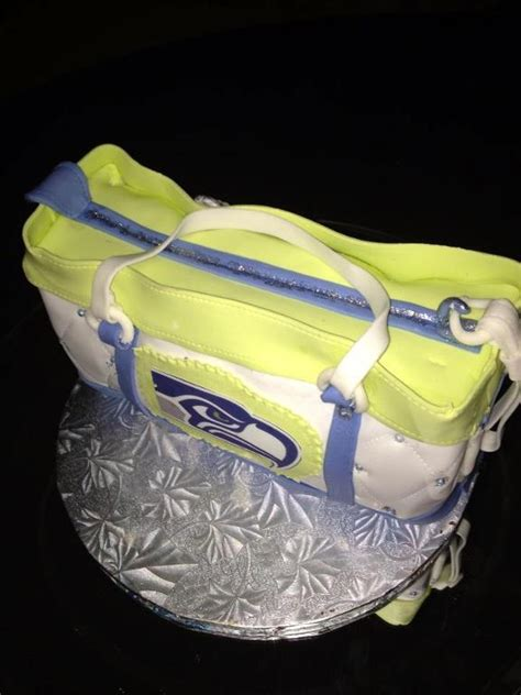 Cake Decorating Classes Seattle by You Have To See Seattle Seahawk Cake By Golfergal