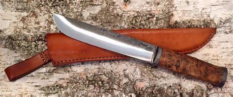 couteau cuisine damas couteau artisanal quot le f leuku quot de frederic maschio en bouleau