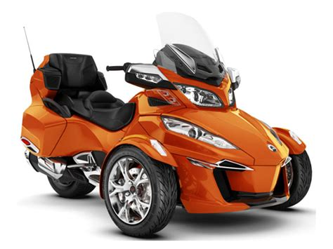 2019 Can-am Spyder Rt Limited Phoenix Orange Metallic