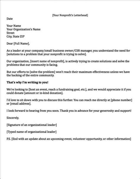 sponsorship letters write great proposals   templates