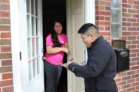 door to door canvassing door knocking guide