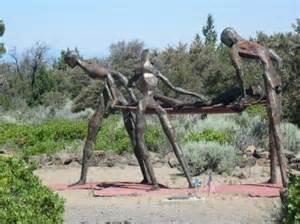 Living Memorial Sculpture Garden Weed CA