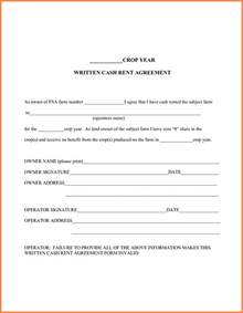 Simple Land Lease Agreement Template