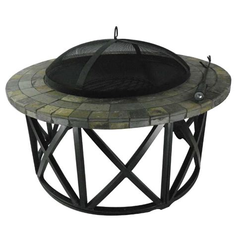 fire pit table sale ellister round mosaic fire pit table 36in on sale fast