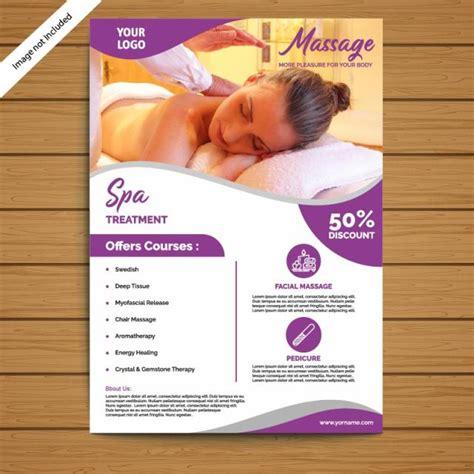 spa brochureflyer template template