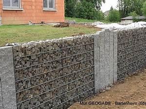 Mur En Gabion : mur de soutenement terrasse ~ Premium-room.com Idées de Décoration
