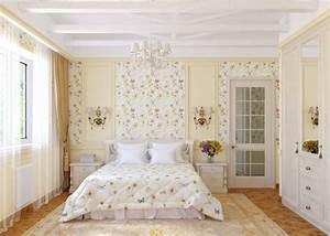 la chambre vintage60 idees deco tres creatives With tapis chambre bébé avec robes romantiques fleurs