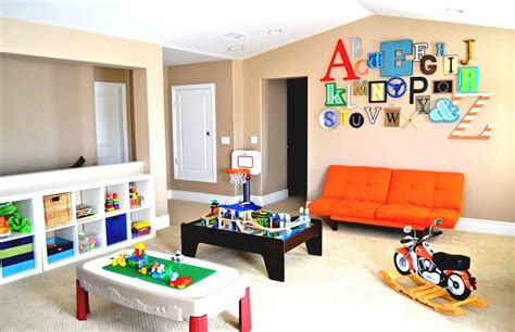 Funtastic Game Room Ideas For Kids And Familly-spenc