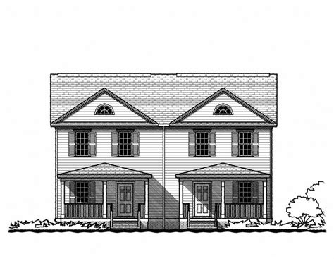 tnd house plans pictures the federal duplex gmf architects house plans gmf