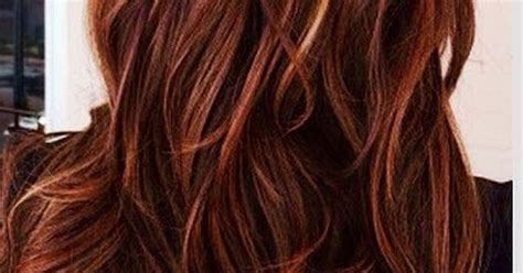 Red Hair With Caramel Highlights Http